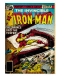 Marvel Comics Retro: The Invincible Iron Man Comic Book Cover 121; Fighting Namor (aged)