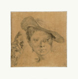 Head of a Young Girl with a Hat