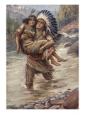 Hiawatha And Minnehaha