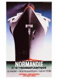 Normandie Giclée par Adolphe Mouron Cassandre