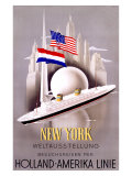 New York to Holland  America Line