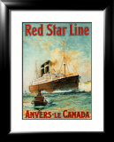 Red Star Line  Anvers to Canada