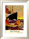 Red Star Line  Anvers to New York