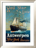 Red Star Linie: Antwerpen  New York  Philadelphia