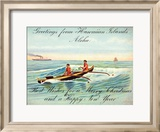 Hawaii  Outrigger  Christmas Greeting