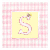 Girl Letter S