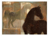 Weathered Equine I Reproduction d'art par Norman Wyatt Jr.