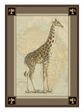 Giraffe with Border II