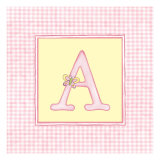 Girl Letter A