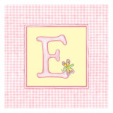 Girl Letter E