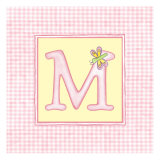 Girl Letter M