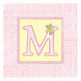 Girl Letter M