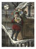 Santa on Roof