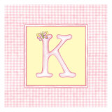 Girl Letter K