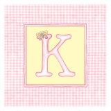 Girl Letter K