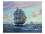Empress of the Seas, Impératrice des mers Reproduction d'art par Roy Cross