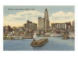 Harbor  Baltimore  Maryland