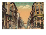Marques de Larios Street  Malaga  Spain
