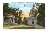 Chapel and Bandstand  USNA  Annapolis  Maryland