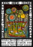 Arche Noah, 1968 Reproduction d'art par Friedensreich Hundertwasser