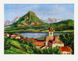 St-Wolfgang at the Wolfgangsee