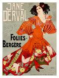 Jane Derval  Folies Bergere