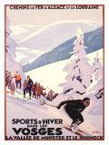 Sports d'Hiver dans les Vosges