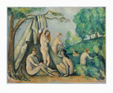 Bathers in Front of a Tent
