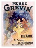 Musée Grévin- Les Fantoches de John Hewelt Giclée par Jules Chéret