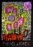 Hommage à Van Gogh, vers2000 Reproduction d'art par Friedensreich Hundertwasser