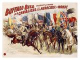 Buffalo Bill's Wild West  Cavaliers Audacieux