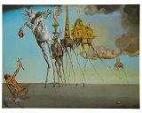 La tentation de Saint-Antoine, 1946 Reproduction d'art par Salvador Dalí