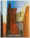 Tour à arche I Reproduction d'art par Lyonel Feininger