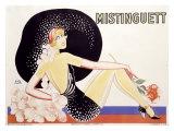 Mistinguett Giclée par Zig (Louis Gaudin)