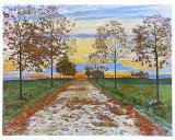 Avenue in Autumn