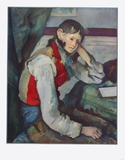 The Boy with Red Vest