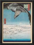 Eagle Flying over the Fukagama District