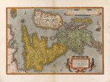 Angliae  Scotiae et Hiberniae  sive Britannicar Insularum Descriptio  1570