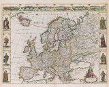 Nova Europae Descriptio  1680