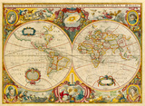 Nova Totius Terrarum Orbis Geographica ac Hydrographica Tabula  c1690