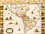 Americae Nova Tabula  1617
