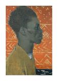 Negro In Profile : Portrait Of Henry Thomas
