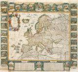 L'Europe Historique et Le Theatre des Actions Heroiques de Louis Le Grand  1775