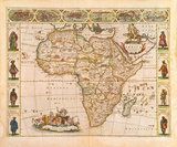 Nova Africa Descriptio  1670