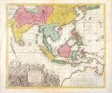 India Orientalis  Adjacentius Insulis  c1740