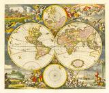 Nova Totius Terrarum Orbis Tabula  1668