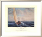The America's Cup - Australia II v Liberty  1983 (signed)