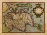 Scotiae Tabula  1573