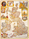 Map of Great Britain and Ireland  c1730