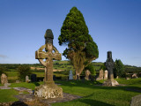 8th Century  High Cross in Ahenny Graveyard  County Tipperary  Ireland